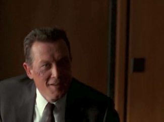 xfiles three words doggett smile