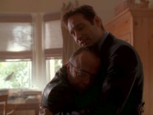 xfiles three words mulder frohicke