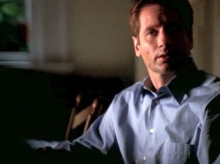 xfiles three words mulder scully what are you doing back