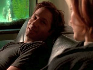 xfiles three words scully going to give birth