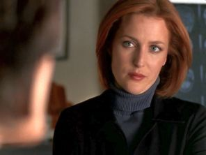 xfiles tinh scully reyes should talk sometime