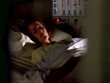 xfiles via negativa scully hospital