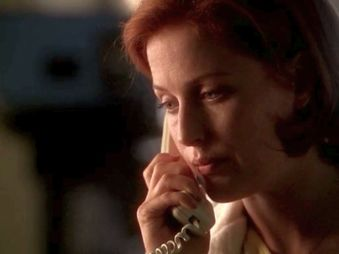 "Scully you do not sound ""fine."" PLEASE BE HEALTHY."