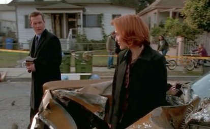 Mulder would have smiled like the sun, if for no other reason than how proud she is of herself.