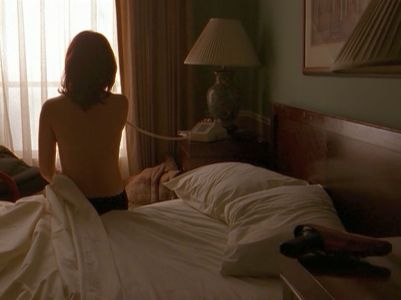 xfiles niht reyes shirtless bed