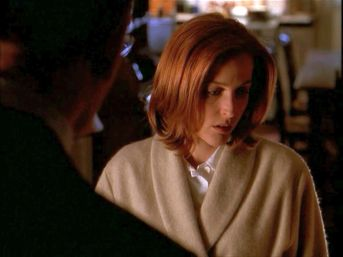 Scully can't even look at Skinner when she thinks about what's going on with William.