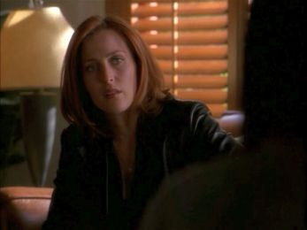 xfiles niht scully leather jacket