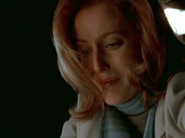 xfiles trust no 1 scully cries