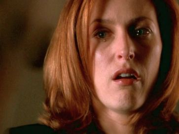 xfiles trust no 1 scully crying
