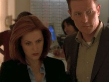 xfiles audrey pauley doggett scully hand on back