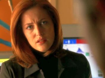 xfiles audrey pauley i'm sorry scully