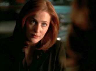 xfiles improbable scully god checkers
