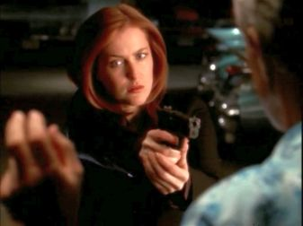 xfiles improbable scully i don't know