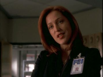 xfiles improbable scully talks science