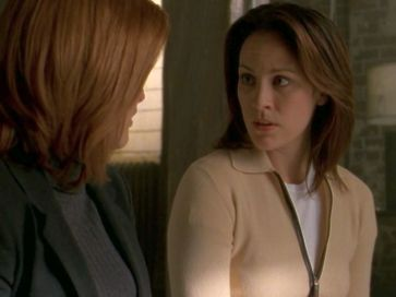 xfiles provenance monica scully tension