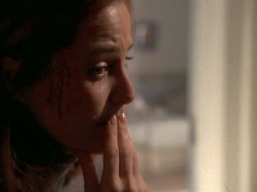 xfiles provenance scully crying