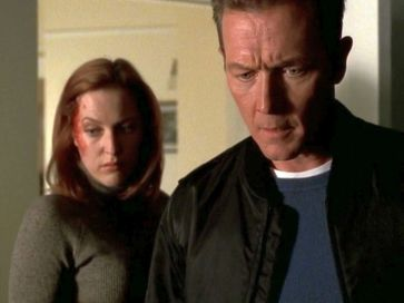 xfiles provenance scully doggett guy on floor