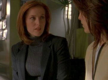 xfiles provenance scully reyes tension