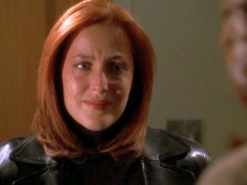xfiles providence scully crying
