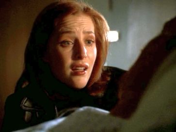 xfiles providence scully that was me talking to you