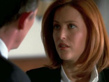 xfiles underneath close talking scully