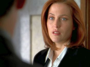xfiles underneath scully determined