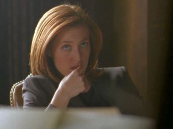 xfiles underneath scully file