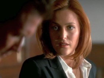 xfiles underneath scully you know john