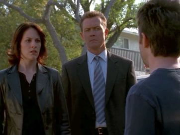 xfiles sunshine days doggett confused