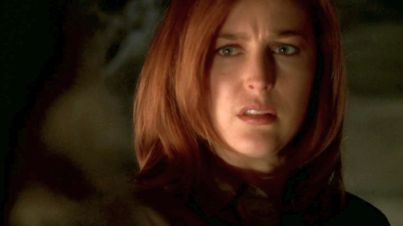 Mulder, look at her. How could you leave her out of anything?
