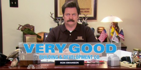 ron swanson very good