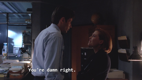 xfiles bad blood damn right