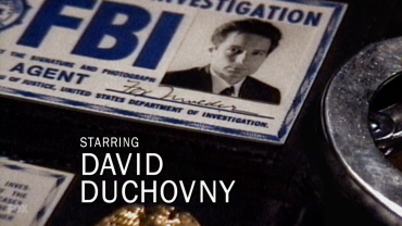 xfiles credits duchovny