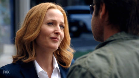 xfiles my struggle scully happy to see you
