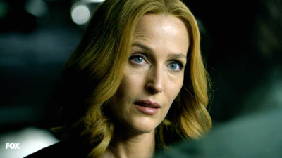 xfiles my struggle scully excited