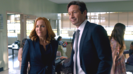 xfiles founders mulder scully smile