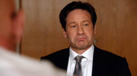 xfiles founders mulder serious